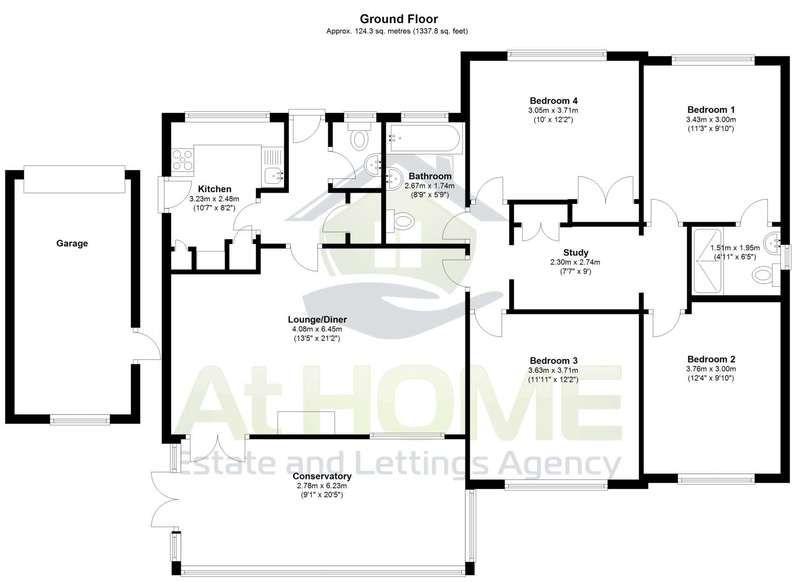 4 Bedrooms Bungalow for sale in Chesnut Way, Henfield