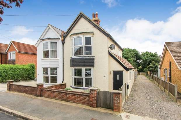 3 Bedrooms Semi Detached House for sale in Burnan Road, Tankerton, Whitstable