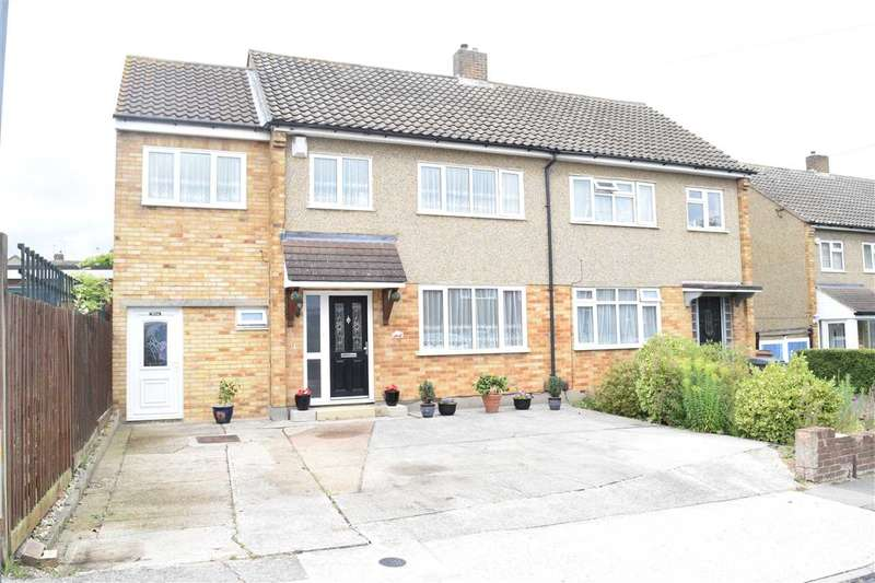 4 Bedrooms Semi Detached House for sale in Brian Close, Chelmsford