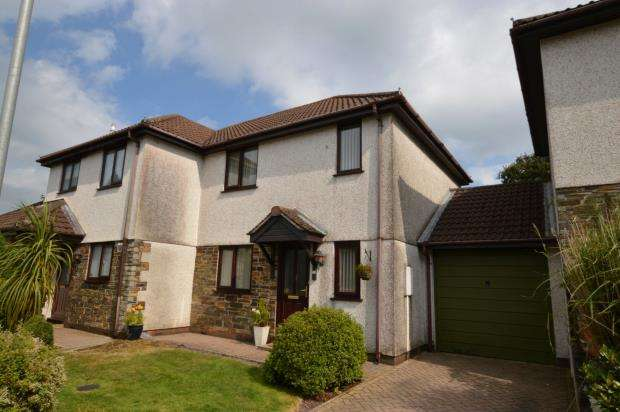 2 Bedrooms Semi Detached House for sale in Mayfield Drive, Roche, St. Austell, Cornwall