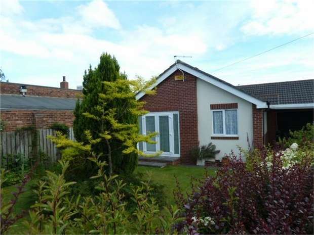 3 Bedrooms Detached Bungalow for sale in Wellhead Terrace, Ashington, Northumberland
