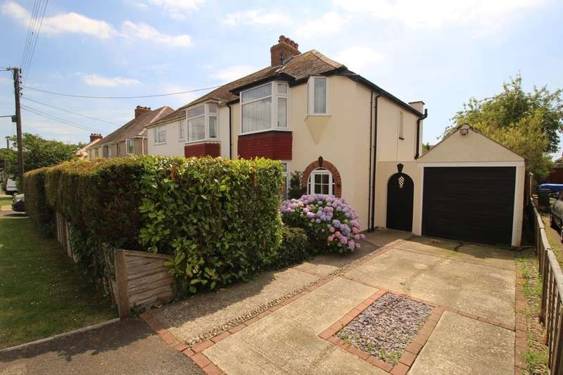 3 Bedrooms Semi Detached House for sale in Aerodrome Road, Hawkinge, Folkestone, CT18
