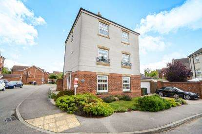 4 Bedrooms Detached House for sale in Stukeley Close, Lincoln, Lincolnshire, .
