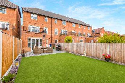 3 Bedrooms End Of Terrace House for sale in Lytham Court, Euxton, Chorley, Lancashire, PR7