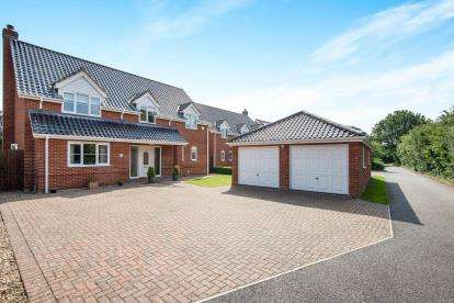4 Bedrooms Detached House for sale in Thorpe End, Norwich, Norfolk