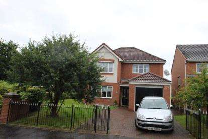 4 Bedrooms Detached House for sale in Redpath Drive, Cambuslang, Glasgow, South Lanarkshire