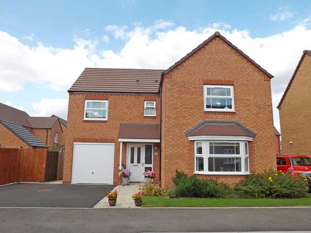 4 Bedrooms Detached House for sale in Hollyhocks Close, Evesham