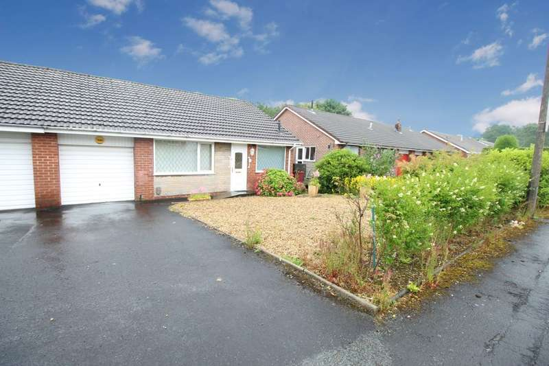 3 Bedrooms Semi Detached Bungalow for sale in St. Aidans Avenue, Darwen, BB3