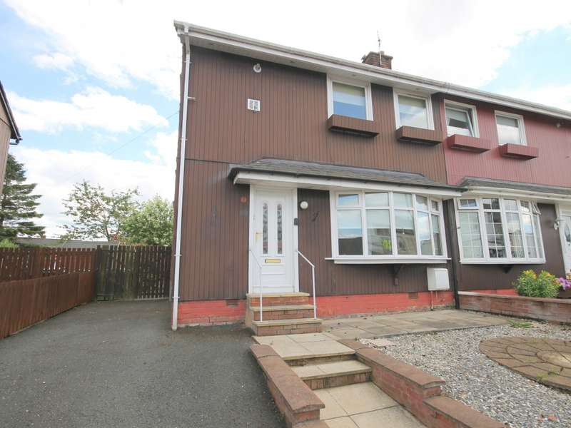2 Bedrooms Semi Detached House for sale in 57 Hope Street, Newmains, Wishaw, ML2 9BA