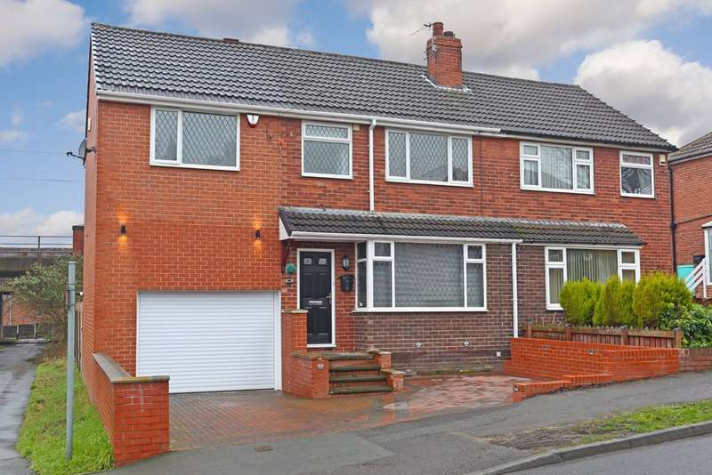 4 Bedrooms Semi Detached House for sale in Melbourne Road, St Johns, Wakefield