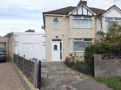 3 Bedrooms Semi Detached House for sale in Perrycroft Road, Bristol, United Kingdom