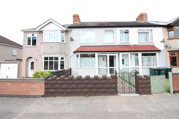4 Bedrooms Terraced House for sale in Forknell Ave, Wyken, Coventry