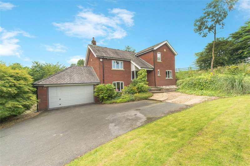 4 Bedrooms Detached House for sale in Lodge View, Farington Moss, Leyland, Lancashire