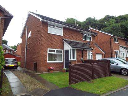 2 Bedrooms Semi Detached House for sale in Riverside Drive, Stoneclough, Manchester