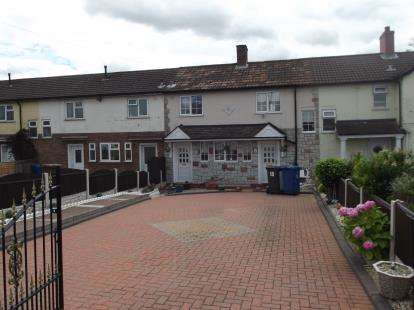 2 Bedrooms Terraced House for sale in Baker Street, Burntwood, Staffordshire