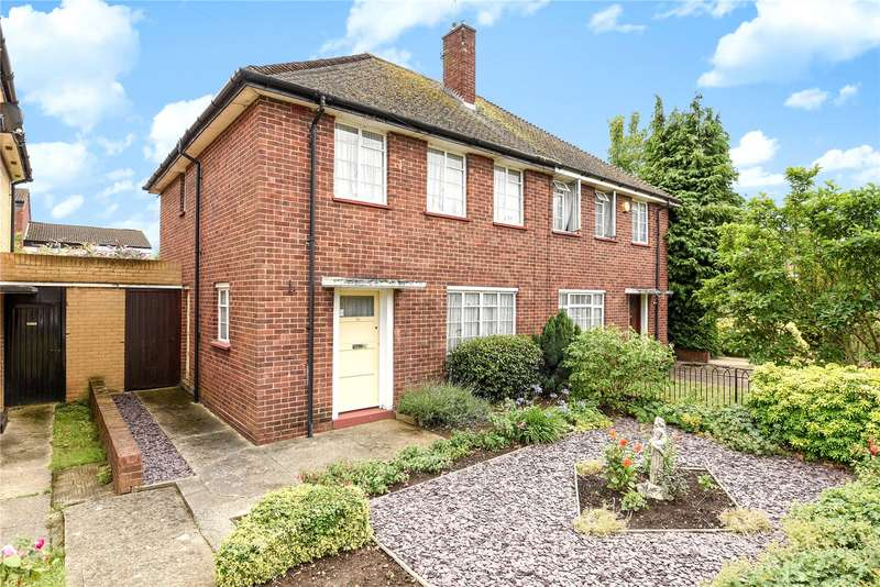 3 Bedrooms Semi Detached House for sale in New Peachey Lane, Uxbridge, Middlesex, UB8