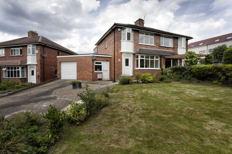 3 Bedrooms Semi Detached House for sale in 37 Harthill Parade, Gildersome, Leeds, LS27 7ET