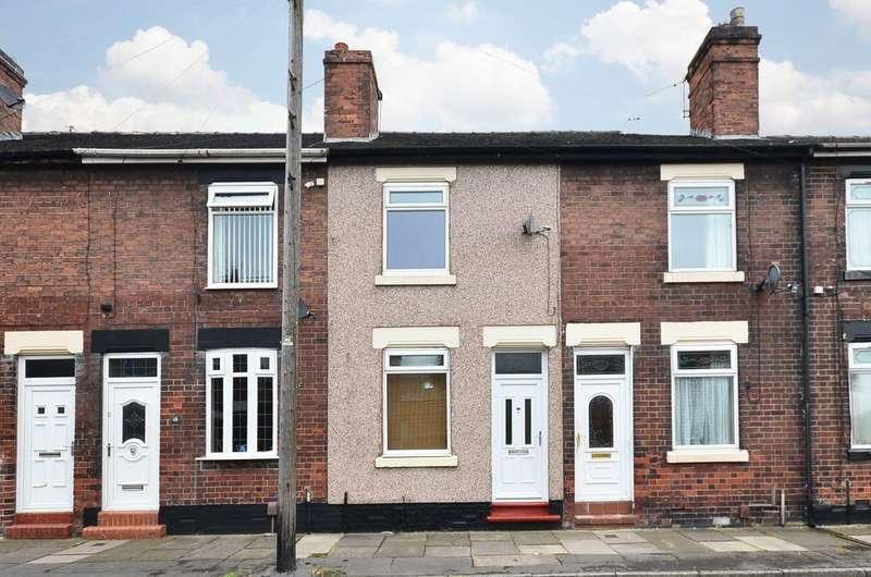 2 Bedrooms Terraced House for sale in Packett Street, Fenton, Stoke-on-Trent, ST4 3DZ