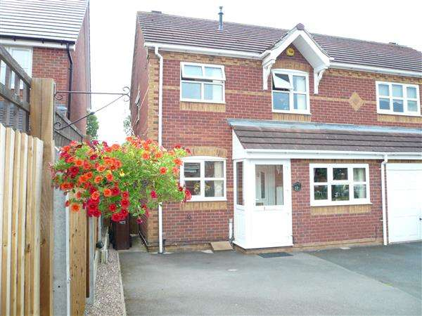 3 Bedrooms Semi Detached House for sale in Exmoor Green, Wednesfield, Wednesfield
