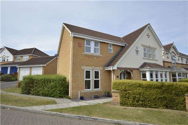 4 Bedrooms Detached House for sale in 20 Blackberry Drive, Frampton Cotterell, BRISTOL, BS36 2SN