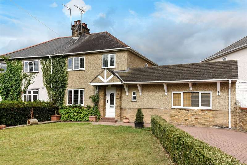 4 Bedrooms Semi Detached House for sale in Cowley Crescent, Uxbridge, Middlesex, UB8