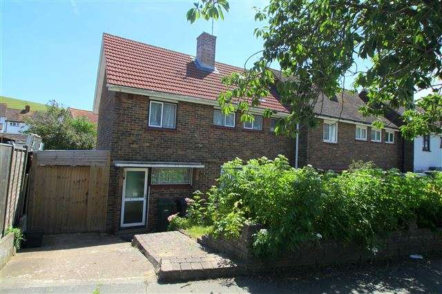 3 Bedrooms End Of Terrace House for sale in Stanstead Crescent, Brighton, East Sussex, BN2 6TQ