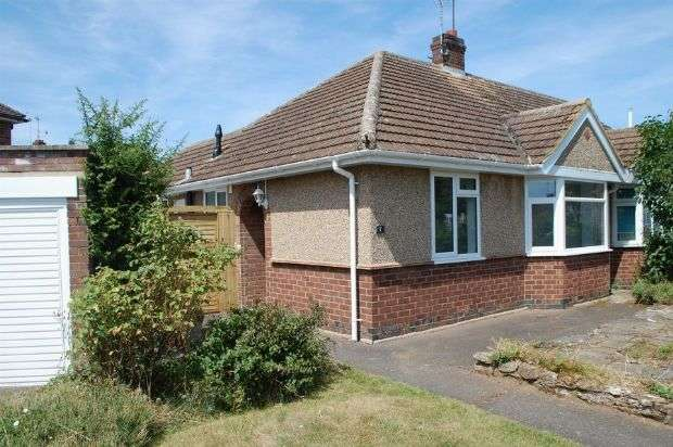 2 Bedrooms Semi Detached Bungalow for sale in Dane Ridge, Duston, Northampton NN5 6HQ