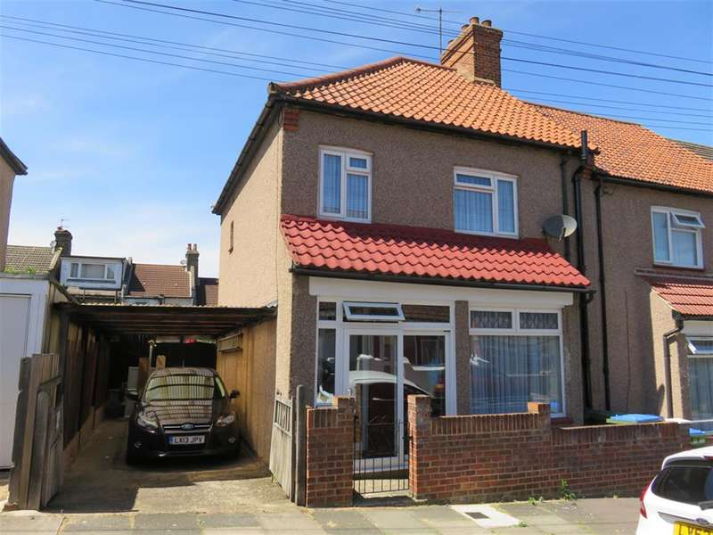 3 Bedrooms End Of Terrace House for sale in Pegwell Street, Plumstead Common, London, SE18 2SP