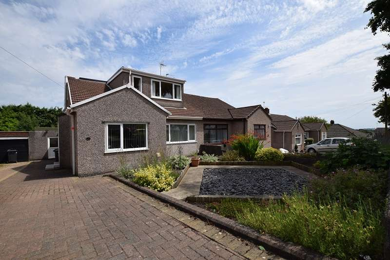 4 Bedrooms Semi Detached House for sale in Cefn Nant , Rhiwbina, Cardiff. CF14 6SH