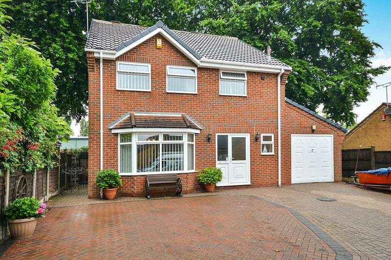 3 Bedrooms Detached House for sale in Church Lane, Sutton-In-Ashfield, NG17