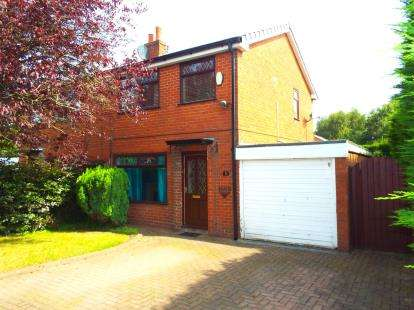 3 Bedrooms Semi Detached House for sale in Haddon Road, Lowton, Warrington, Greater Manchester