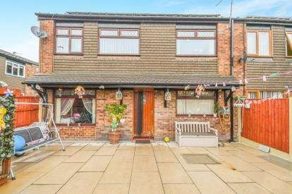 3 Bedrooms End Of Terrace House for sale in Cabul Close, Warrington, Cheshire, .