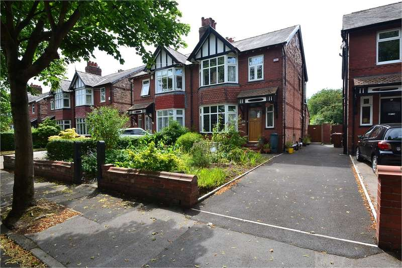3 Bedrooms Semi Detached House for sale in Flowery Field, Woodsmoor, Stockport SK2 7ED