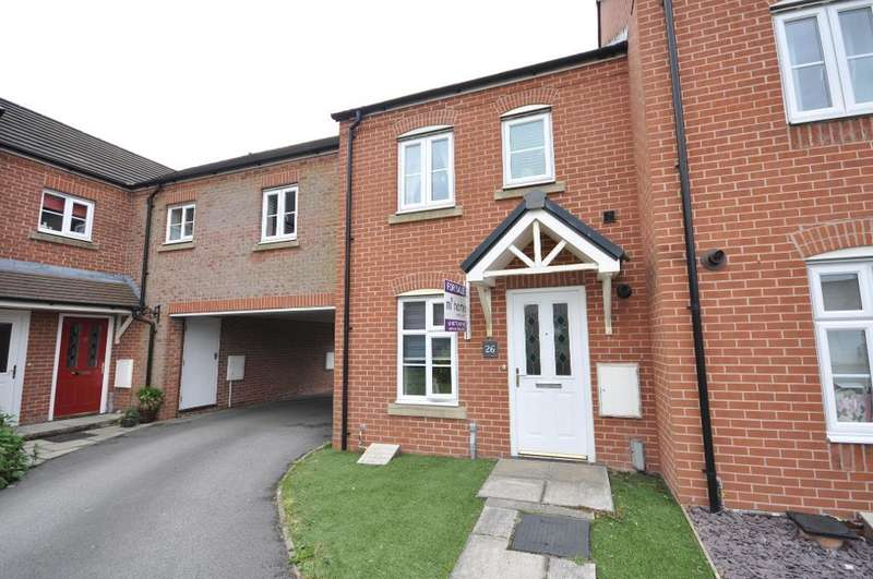 2 Bedrooms Mews House for sale in Fairfield Way, Wesham, Preston, Lancashire, PR4 3EP