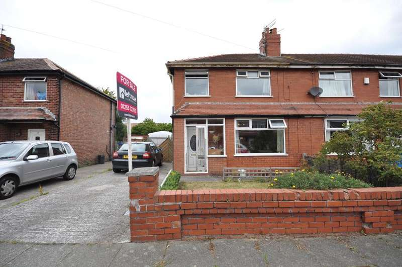3 Bedrooms End Of Terrace House for sale in Newton Road, St Annes, Lytham St Annes, Lancashire, FY8 3JW
