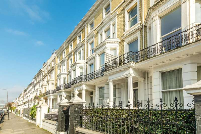 3 Bedrooms Maisonette Flat for sale in Holland Road, Holland Park, W14