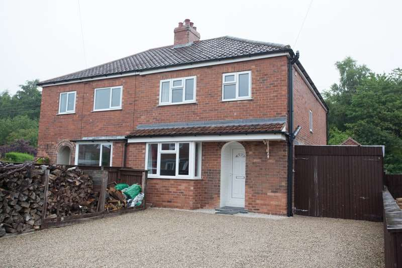 3 Bedrooms Semi Detached House for sale in George Terrace, Selby, North Yorkshire, YO8