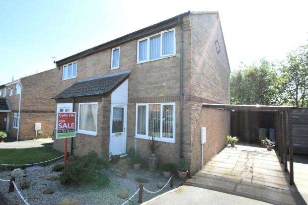 2 Bedrooms Semi Detached House for sale in Harvest Way, Eastfield, Scarborough, North Yorkshire YO11 3NG