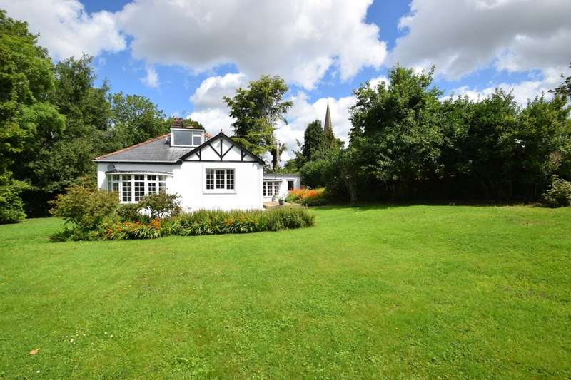 4 Bedrooms Detached Bungalow for sale in The Dell, Merthyrmawr Road, Bridgend, Bridgend County Borough, CF31 3NR.