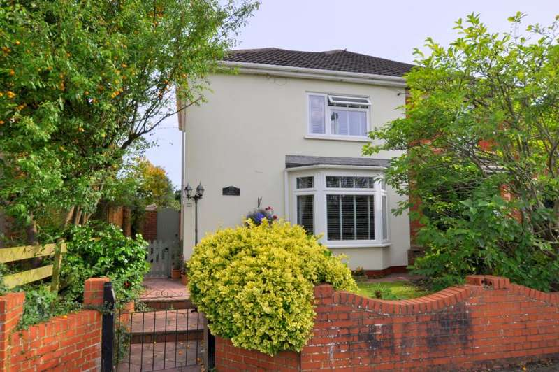 4 Bedrooms Semi Detached House for sale in Southampton Road, Ringwood, BH24 1JG