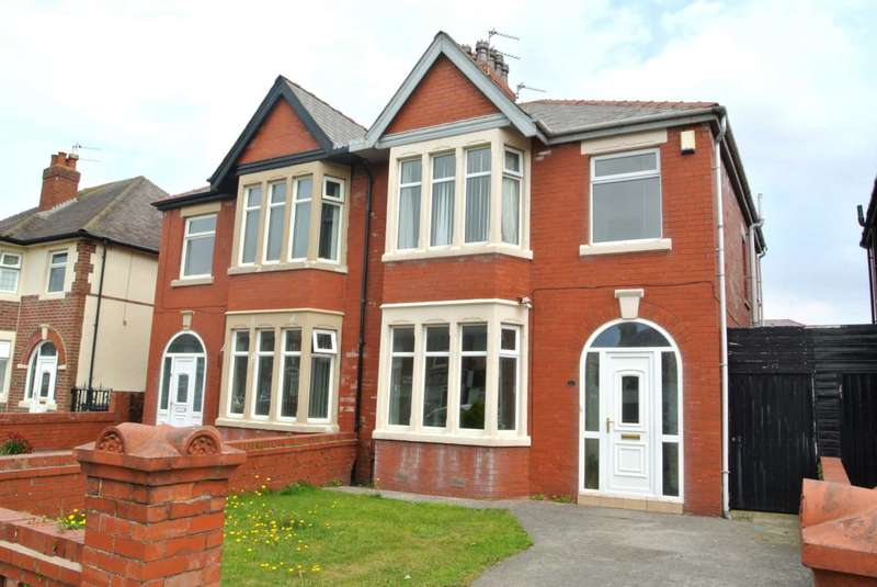 3 Bedrooms Semi Detached House for sale in Harrington Avenue, Blackpool, FY4 1QE