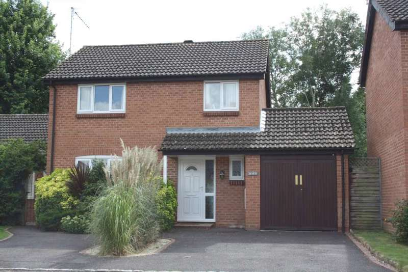 4 Bedrooms Link Detached House for sale in Plympton Close, Earley