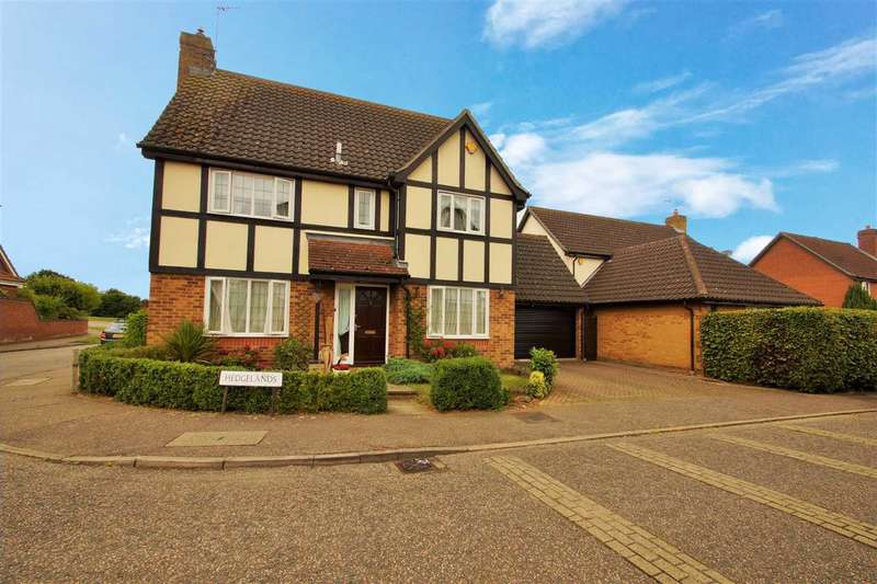 4 Bedrooms Detached House for sale in Hedgelands, Copford, Colchester