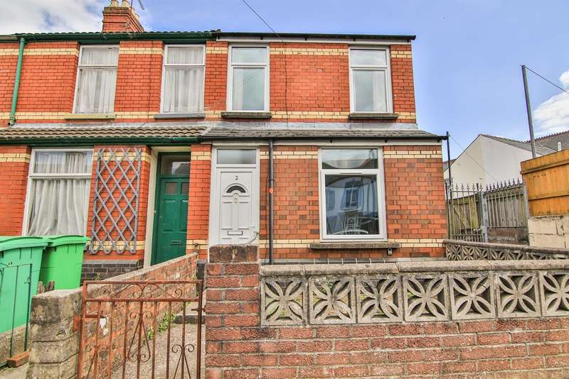 2 Bedrooms End Of Terrace House for sale in Blosse Road, Llandaff North, Cardiff