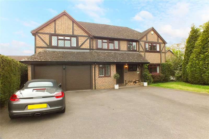 5 Bedrooms Detached House for sale in Swan Way, Church Crookham, Fleet, Hampshire, GU51