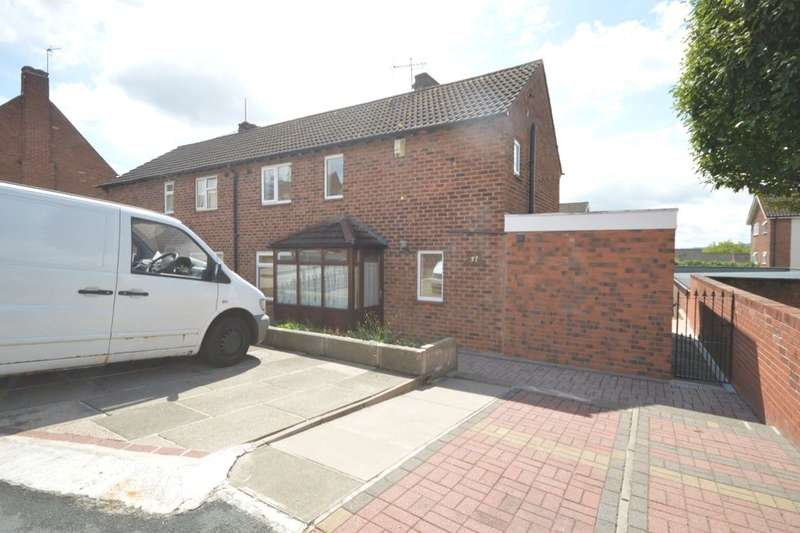 3 Bedrooms Semi Detached House for sale in Ashfield Crescent, Dudley, DY2
