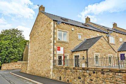 3 Bedrooms End Of Terrace House for sale in Clover Croft, Higham, Burnley, Lancashire