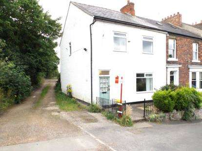 3 Bedrooms End Of Terrace House for sale in Hurworth Road, Hurworth Place, Darlington