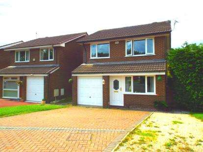 3 Bedrooms Detached House for sale in Dunscar Close, Birchwood, Warrington, Cheshire