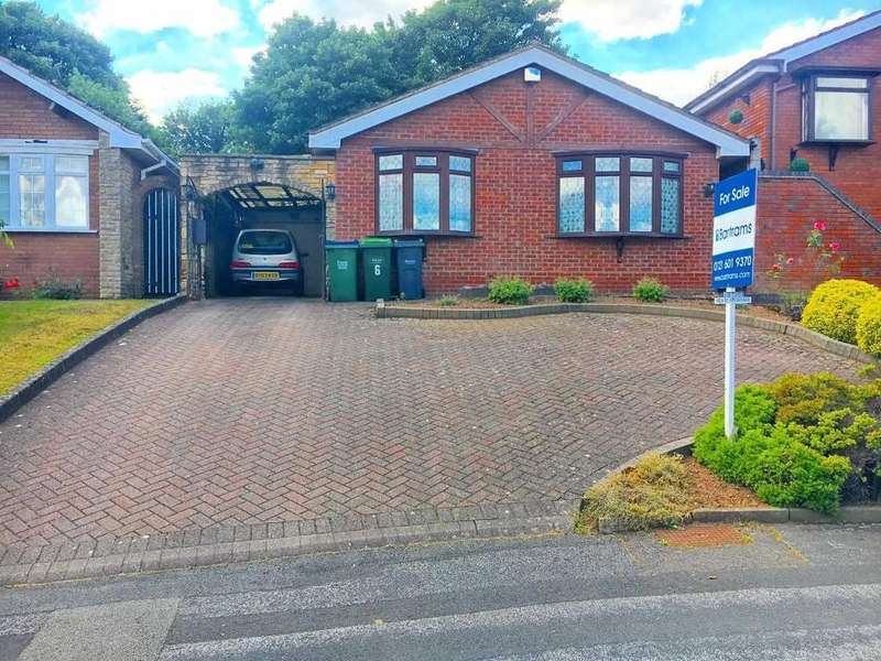 2 Bedrooms Bungalow for sale in WYNDMILL CRESCENT, WEST BROMWICH, WEST MIDLANDS, B71 3RB